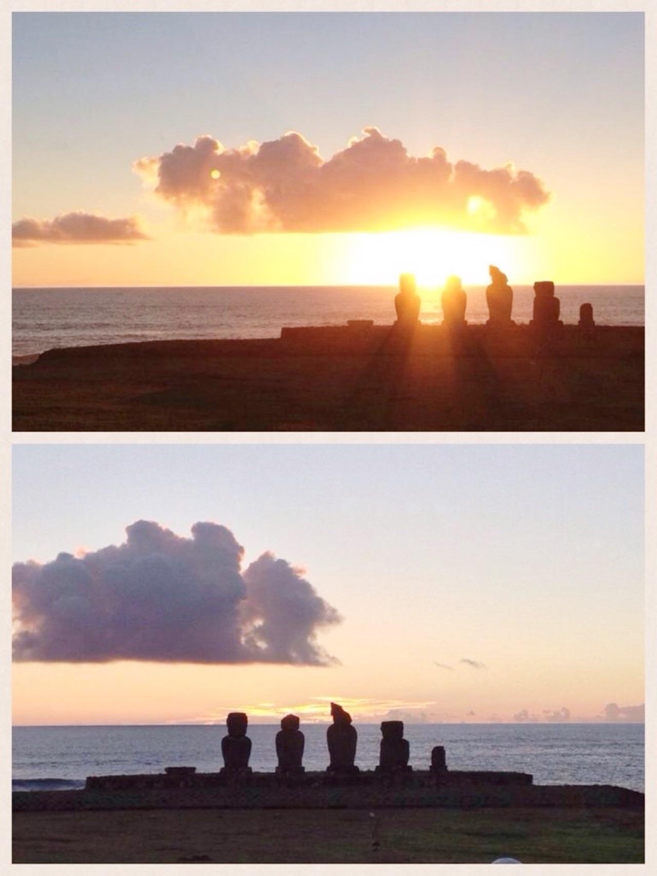 Ilha de Páscoa como chegar Pôr do Sol