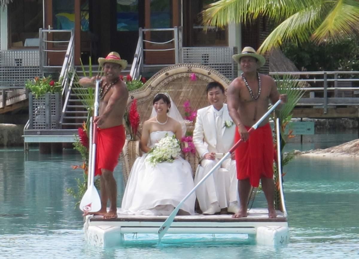 Bora Bora Casamento Típico