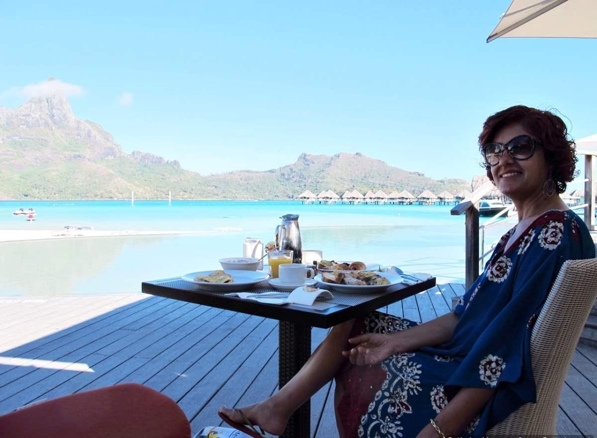Bora Bora Polinésia Francesa Da Vranda Hotel Le Meridiem