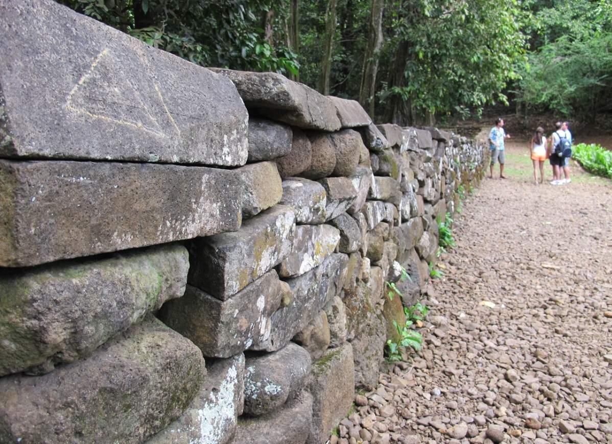 Moorea o que fazer Ruínas do Templo Polinésio