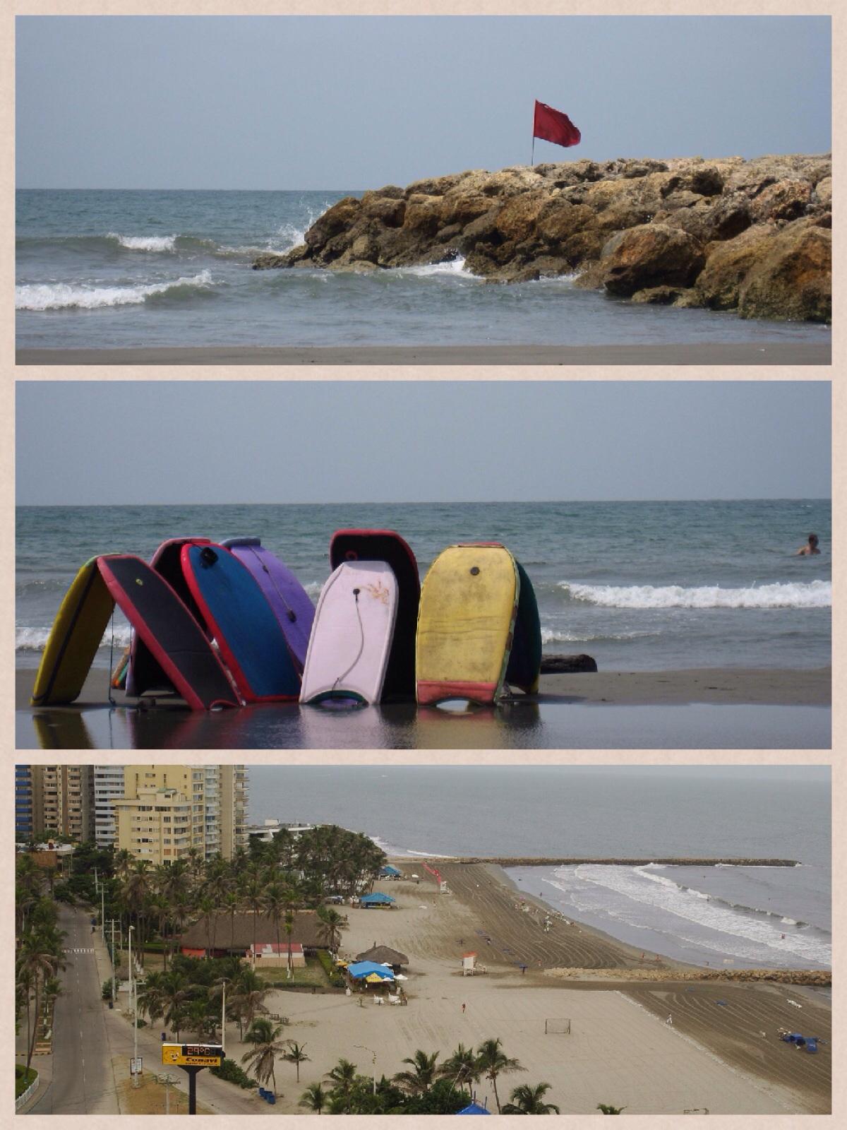 2 dias em Cartagena - praias