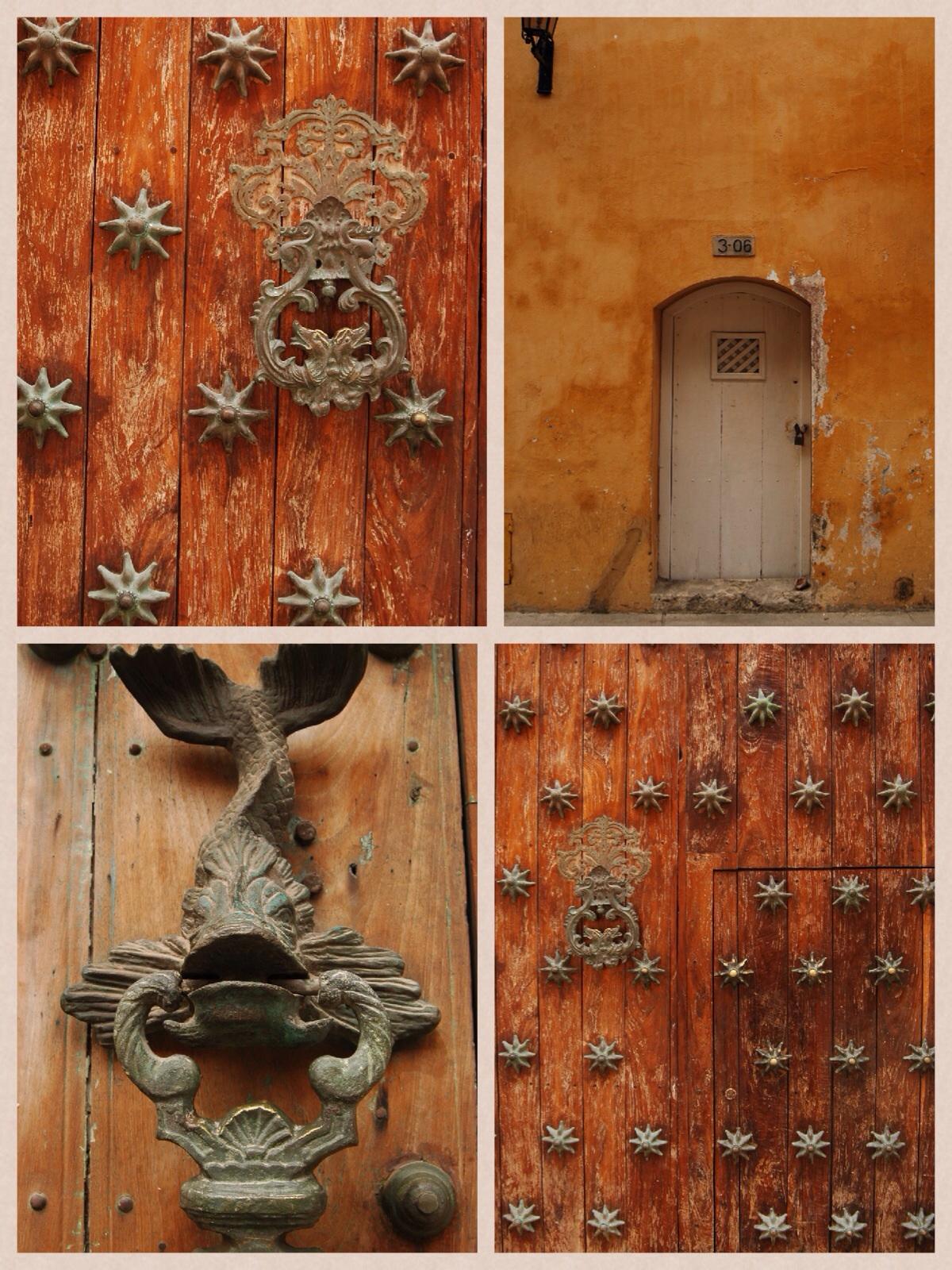 2 dias em Cartagena - Detalhes das portas