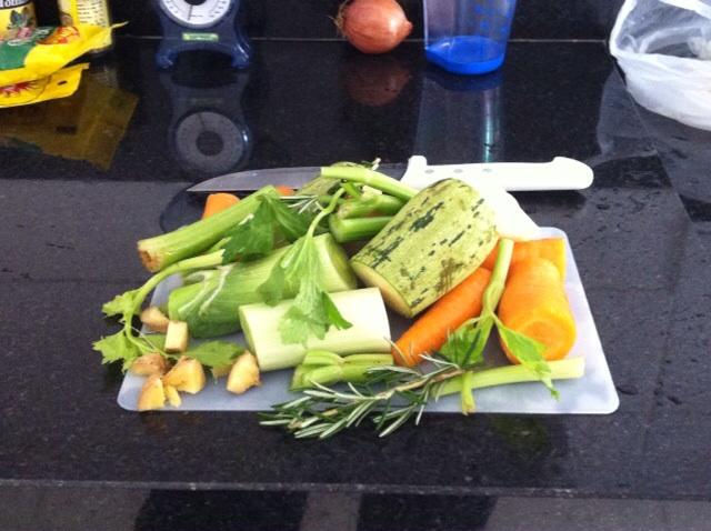 Caldo de legumes – base para risoto