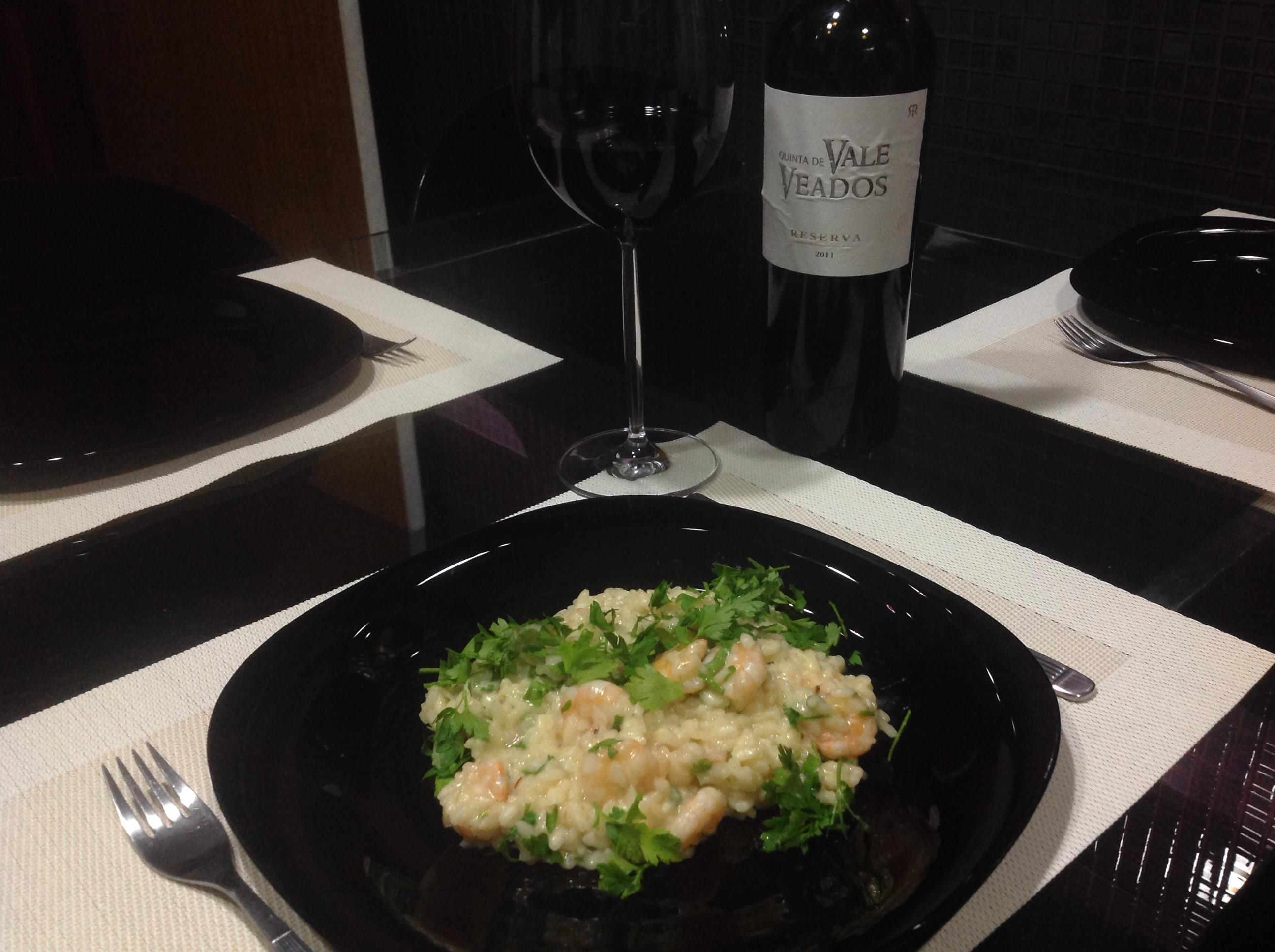 Preparando o prato e harmonizando com o vinho