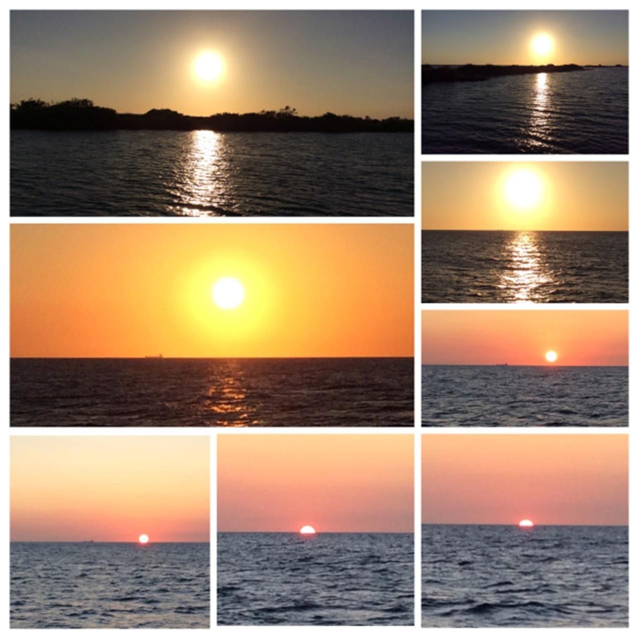 Curaçao por do sol