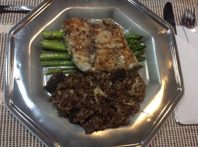 JANTAR AFRODISÍACO – Badejo com arroz vermelho