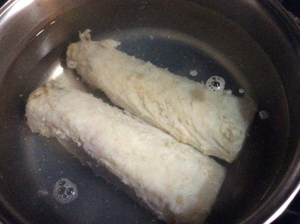 lombo de bacalhau ao forno