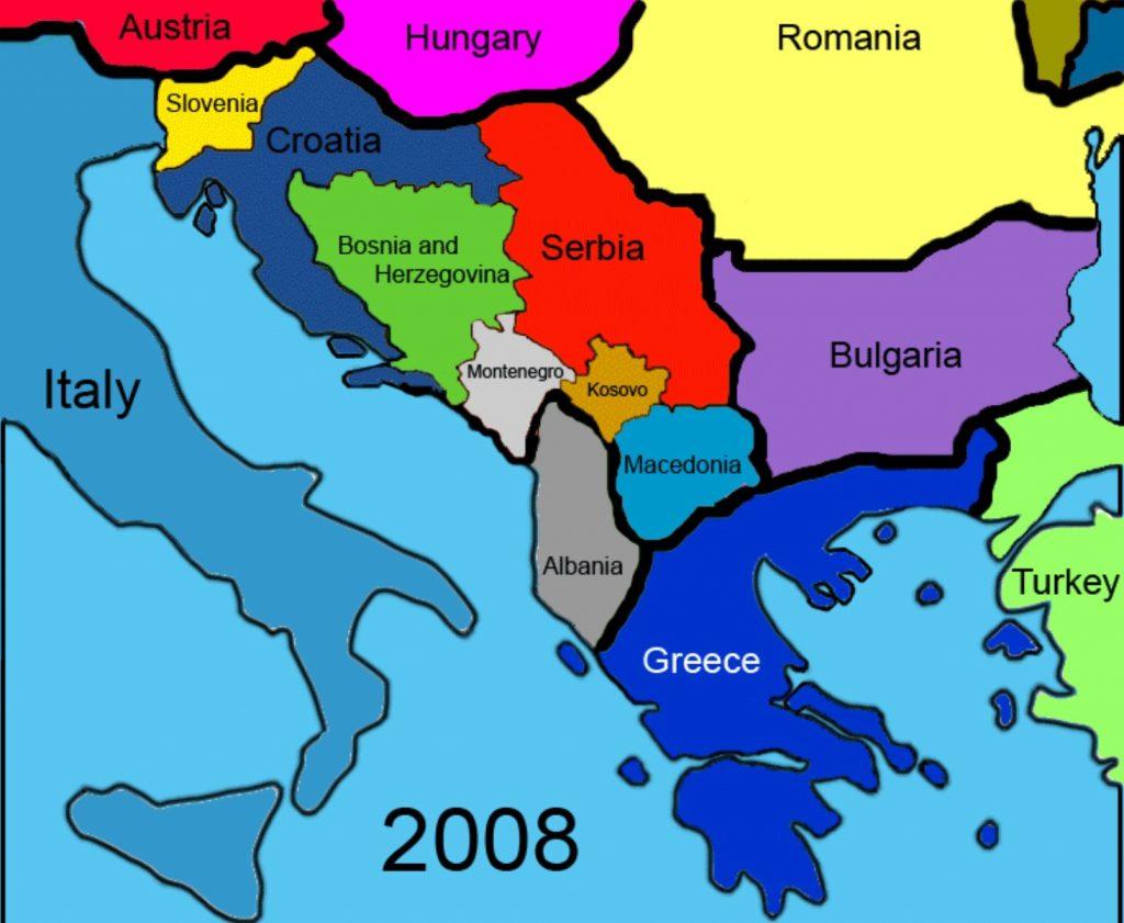 Croácia Montenegro Bósnia Herzegovinae Hungria - Roteiro