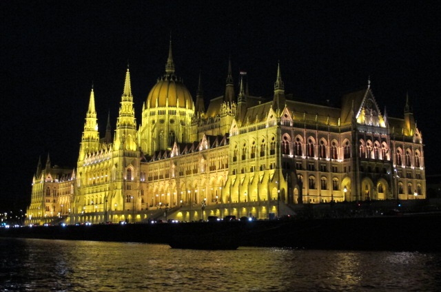O Parlamento, em Budapeste