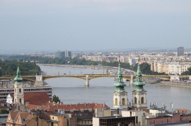 Budapeste, o rio Danúbio e suas pontes