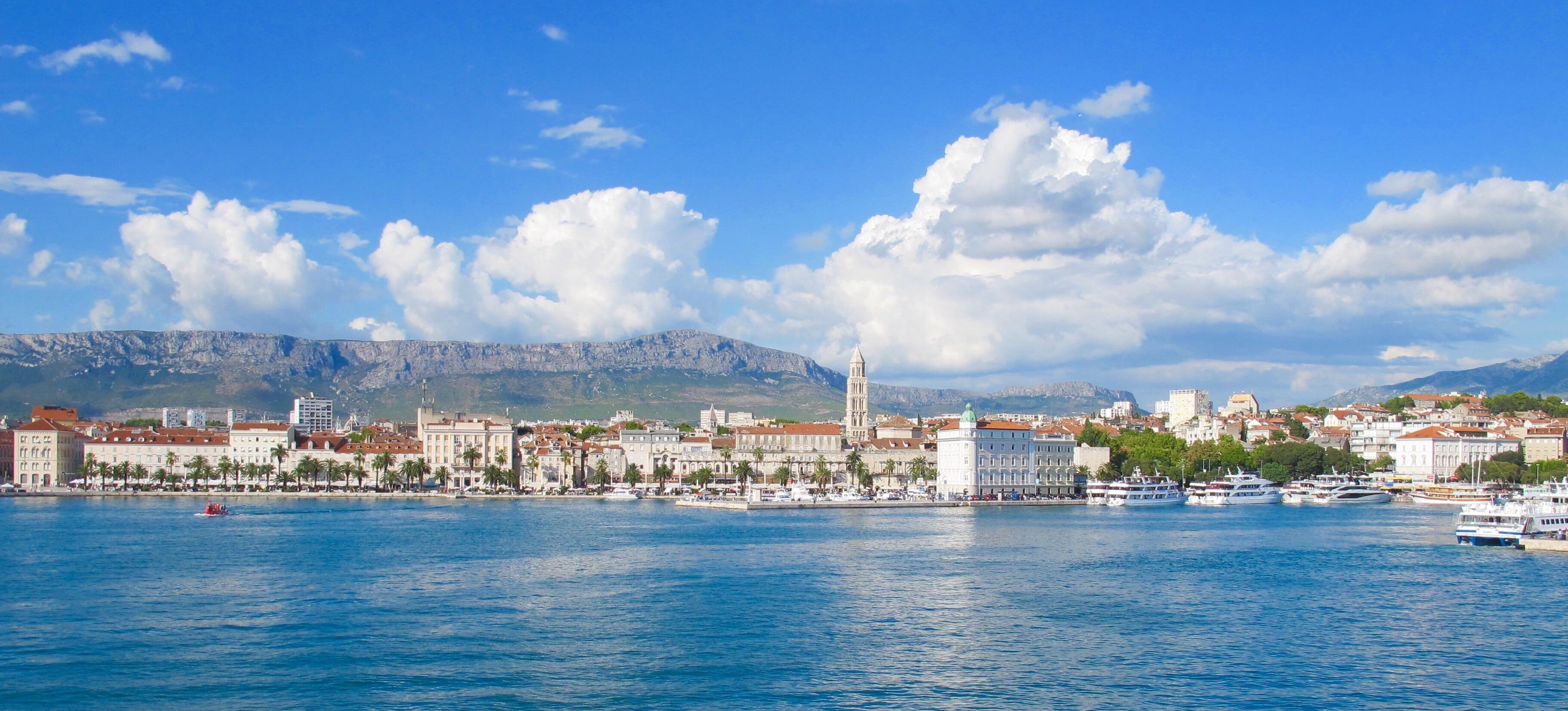 Visão Panorâmica do Porto de Split