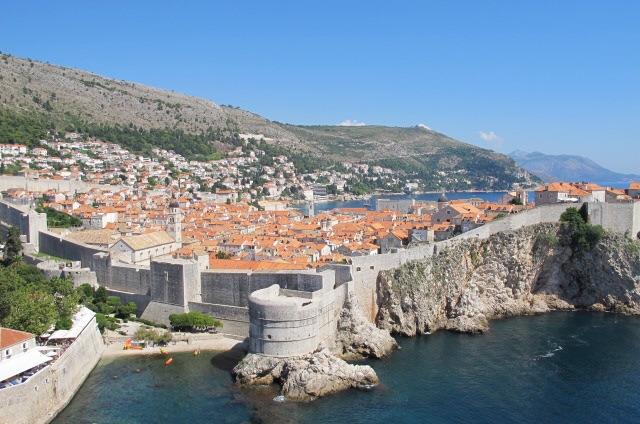 Muros da Cidade Velha em Dubrovnik