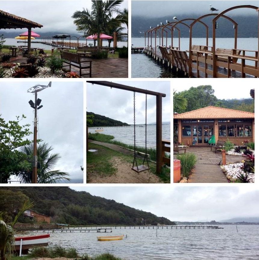 Florianópolis Restaurante Ponta das Caranhas Externa