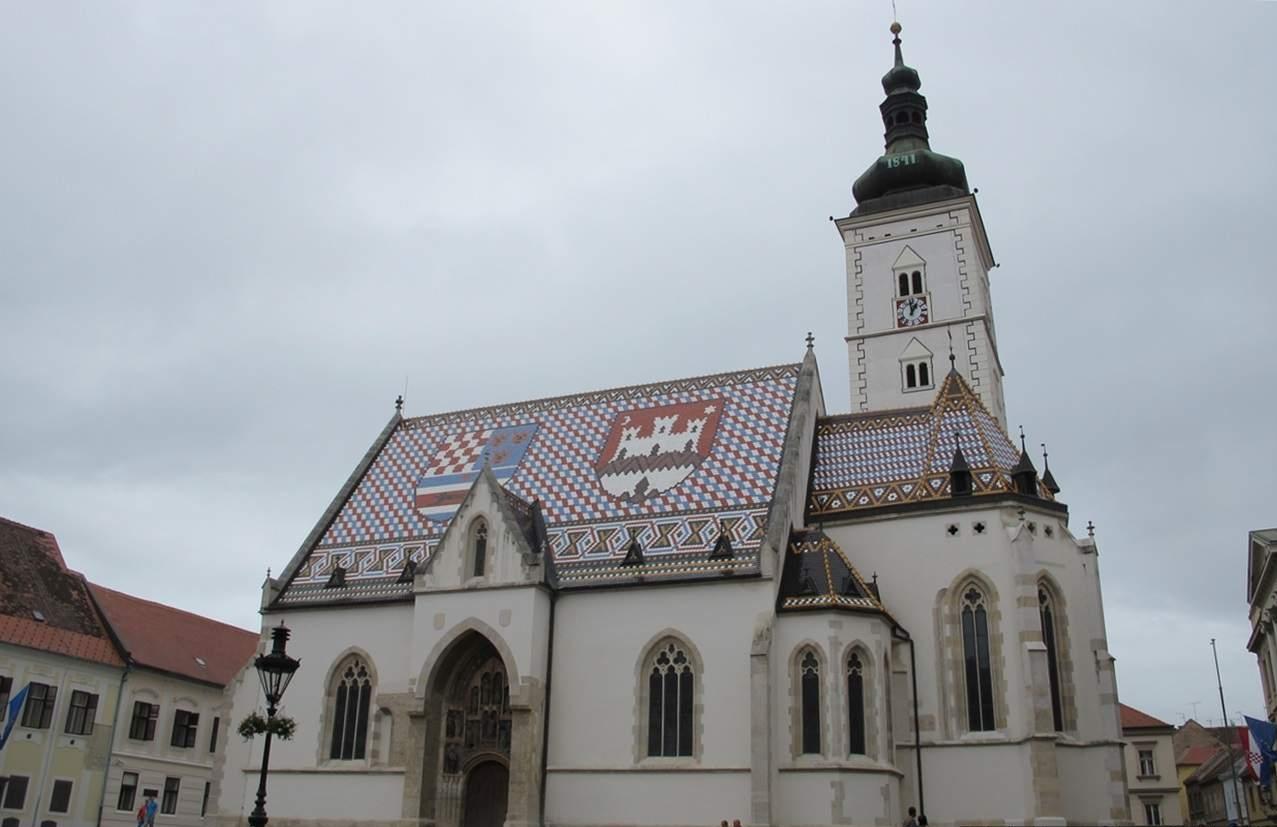 o que fazer em Zagreb Igreja de São Marcos