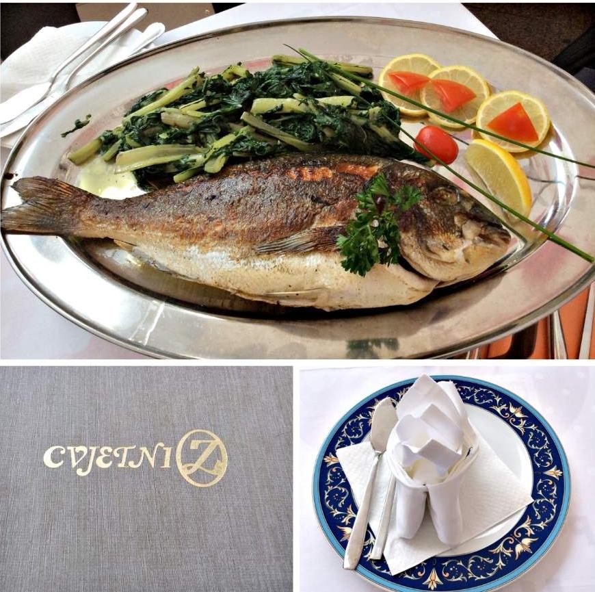 o que fazer em Zagreb Restaurante Cvjetni