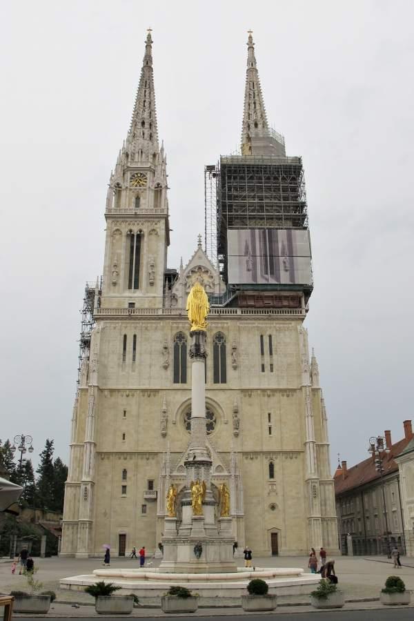 o que fazer em Zagreb Catedral
