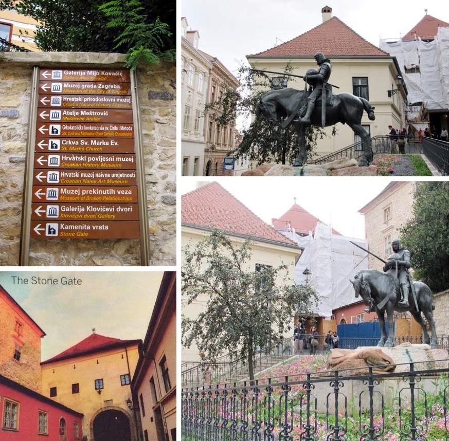 o que fazer em Zagreb São Jorge em seu cavalo