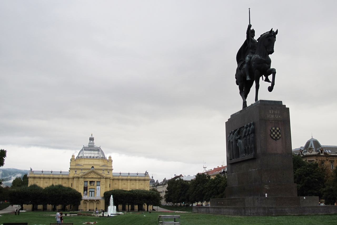 o que fazer em Zagreb Rei Tomislav I