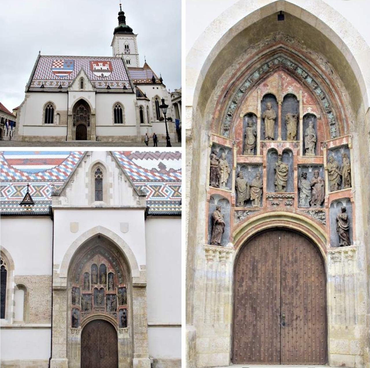 Zagreb St Mark Church