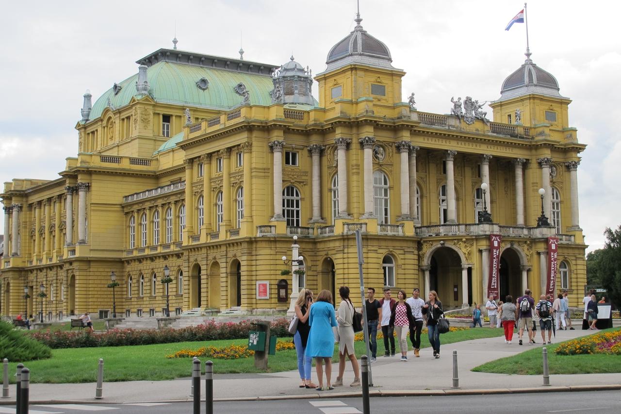Zagreb Teatro Nacional da Croácia