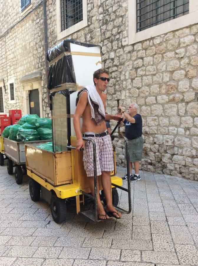 Hvar carrinho transporte