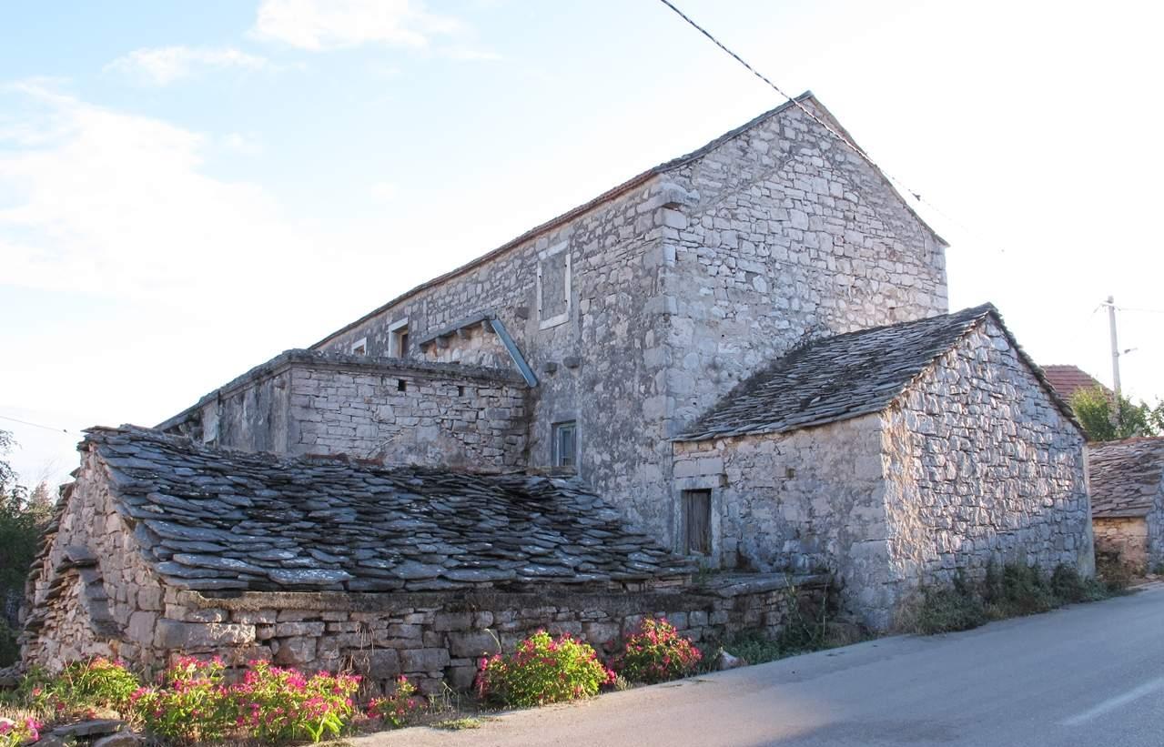 Hvar Dinj Casa de Pedra