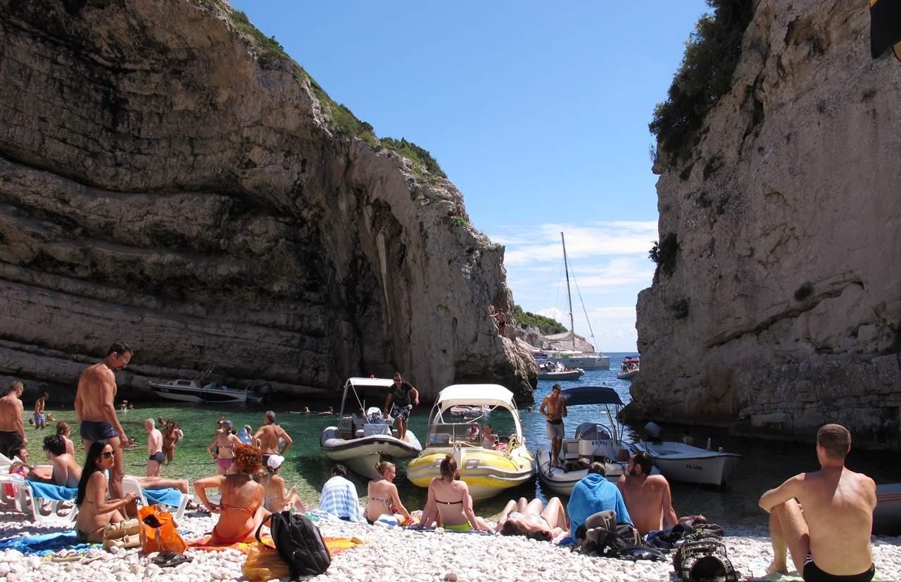 Hvar Ilha Vis Praia Stiniva