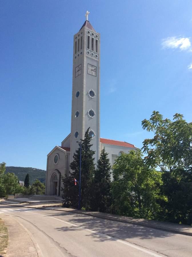 Bósnia Herzegovina Neum Igreja