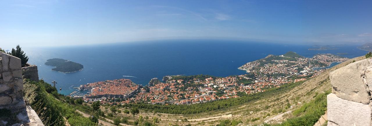 Dubrovnik a Pérola do Adriatico Panaoramica