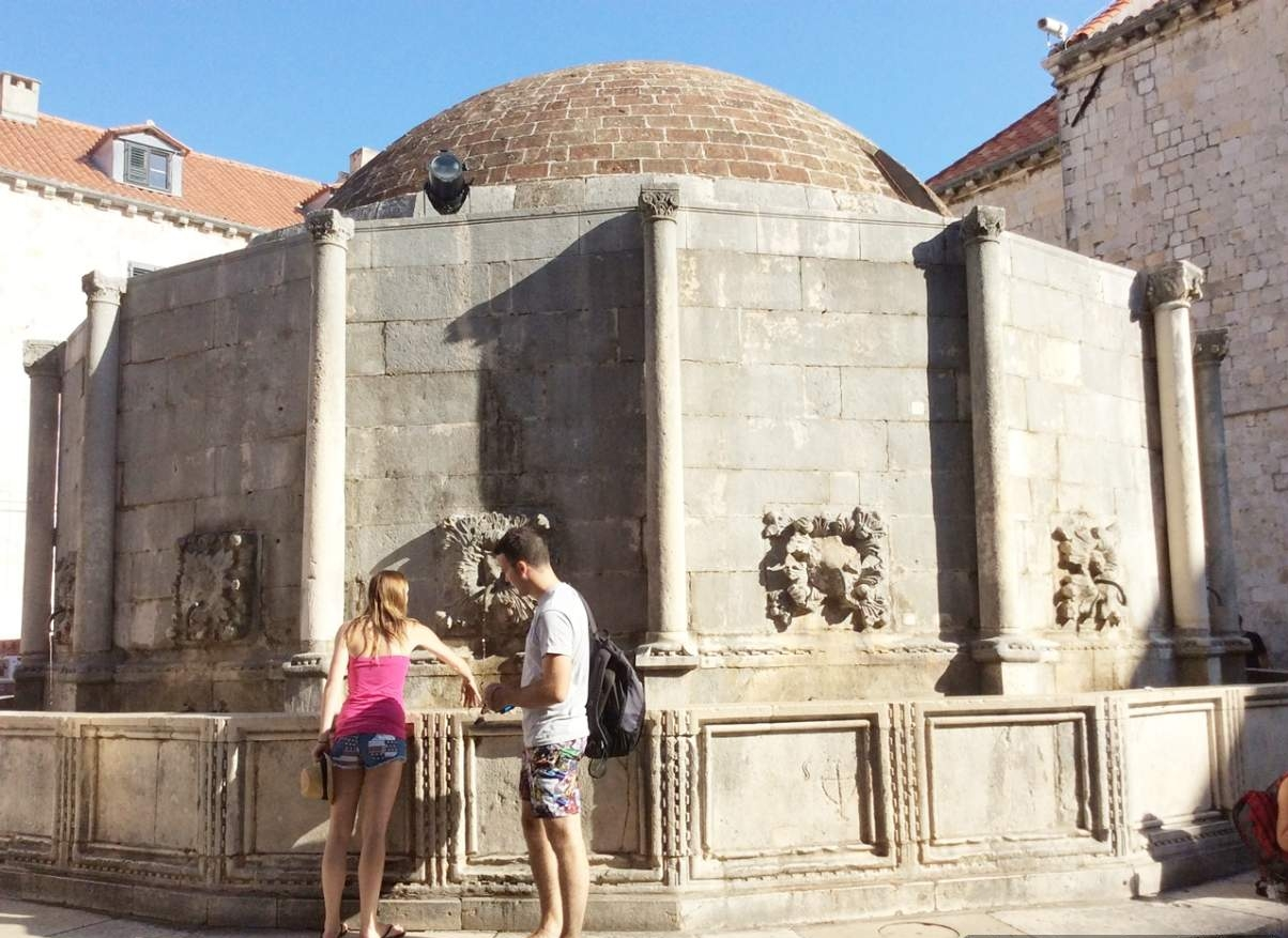 Dubrovnik Fonte Grande de Onofrio 2