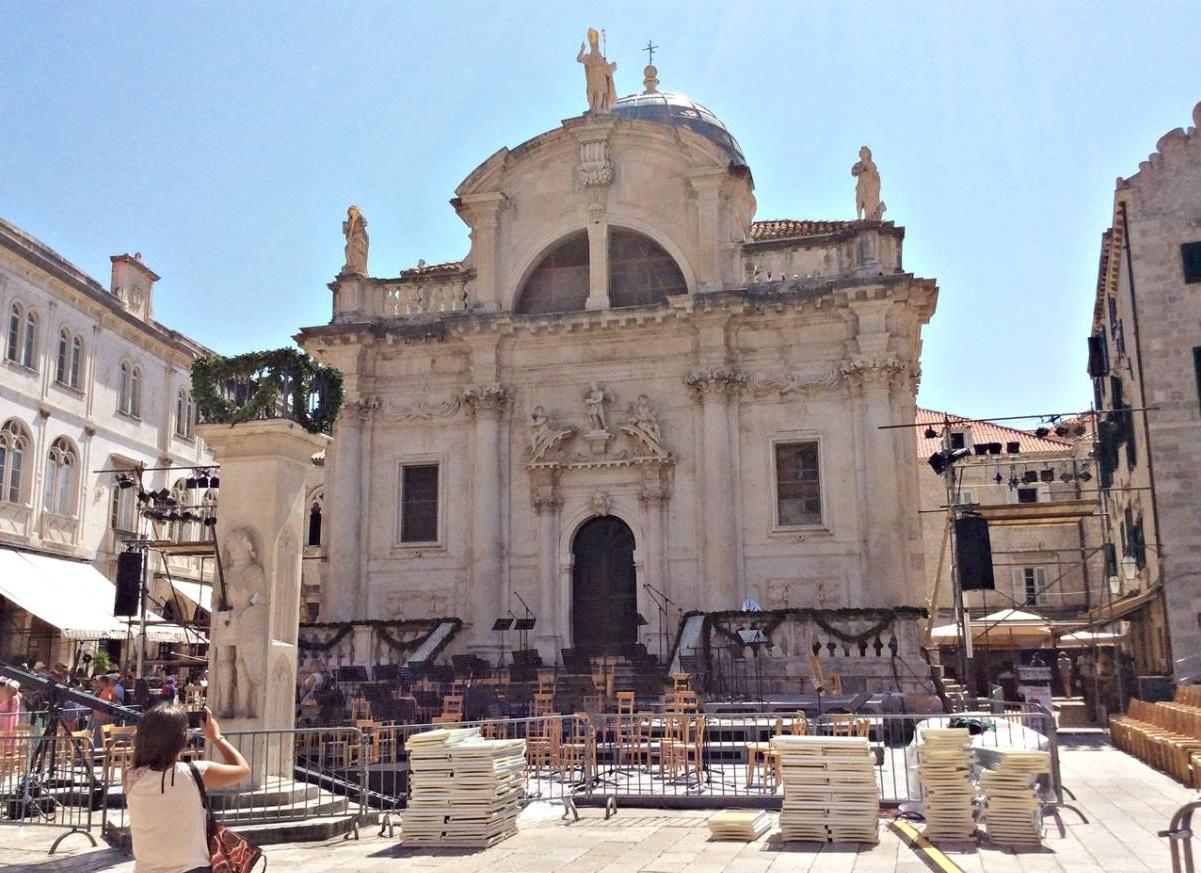 Dubrovnik Igreja de São Bras