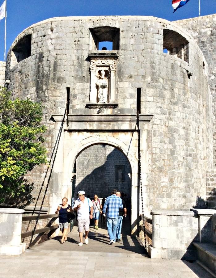 Dubrovnik Portão Ploce