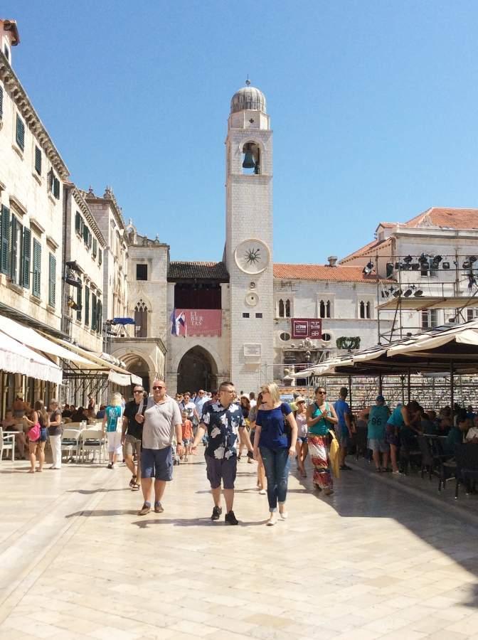 Dubrovnik Torre do Relogio