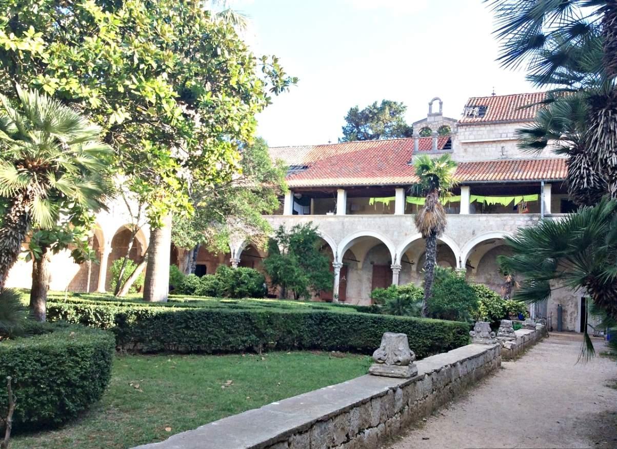 Ilha de Lokrum Monastério Beneditino