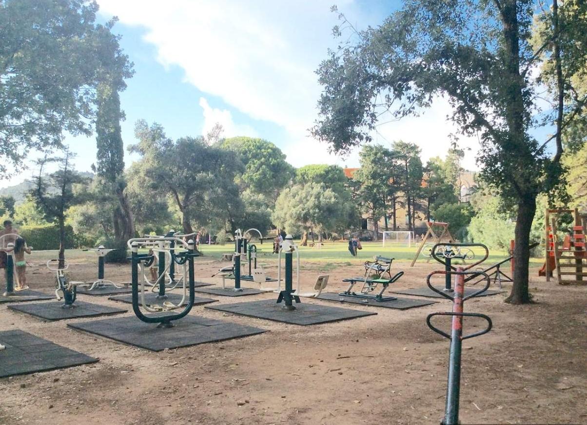 Ilha de Lokrum Parque Exercicios