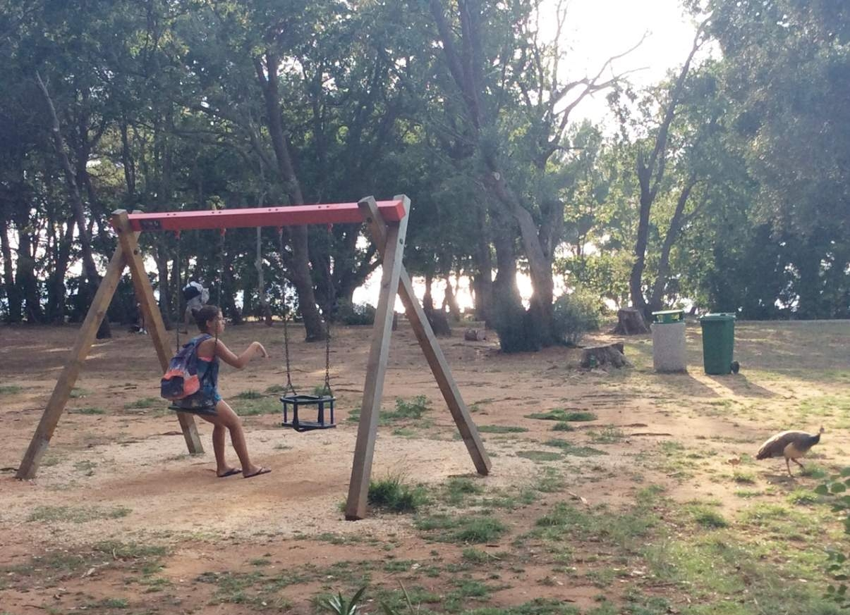 iIlha de Lokrum Parque Infantil