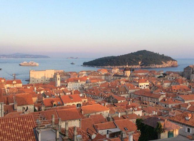 Ilha de Lokrum – em frente a Dubrovnik a King's landing