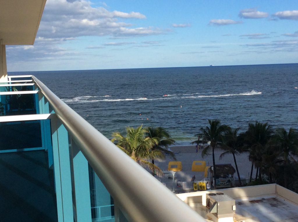 Fort Lauderdale - Ocean Ocean Sky Hotel Varanda