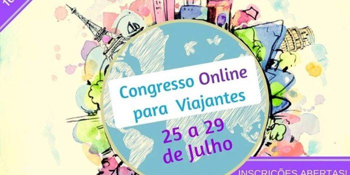 1º Convextur – Congresso de turismo para turistas – Você sonha em viajar? Saiba como viajar mais e melhor.