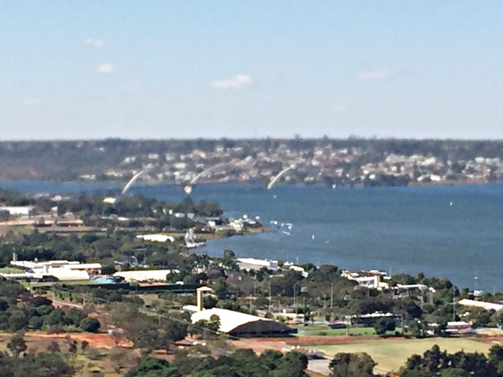 Brasília Vista de Cima Lago Ponte JK