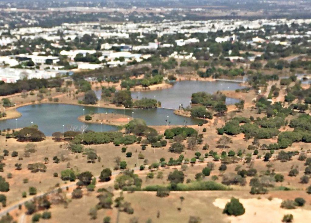 Brasília Vista de Cima Parque da Cidade