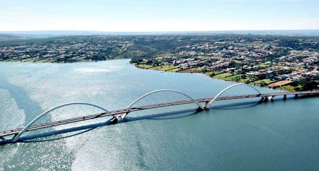 Brasília Vista de Cima Ponte JK 2