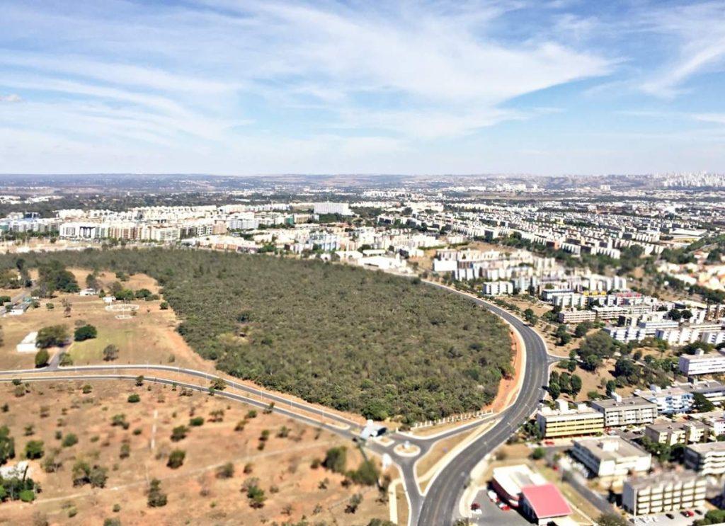 Brasília Vista de Cima Setor Clube Sul