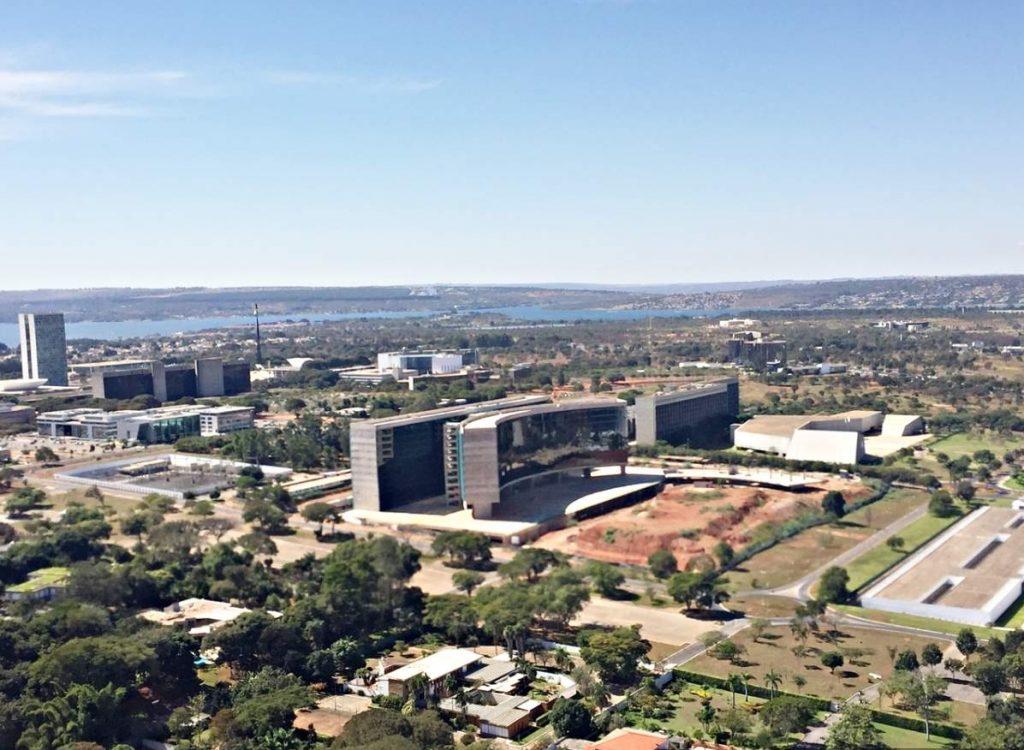 Brasília Vista de Cima Setor Clube Sul STJ