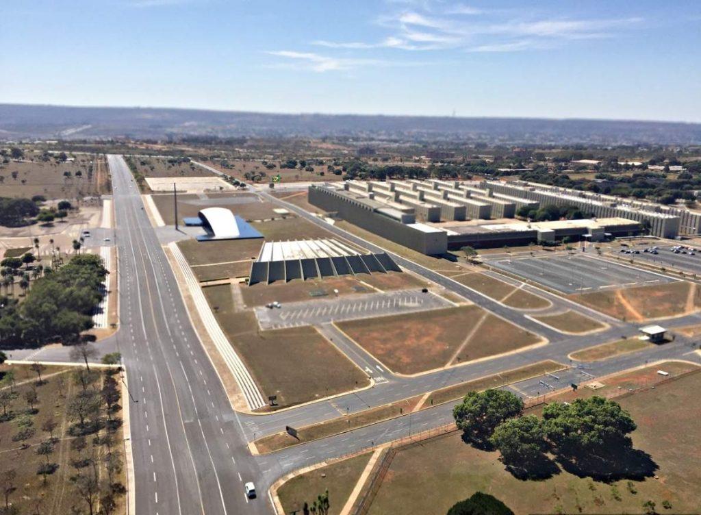 Brasília Vista de Cima Setor Militar Urbano