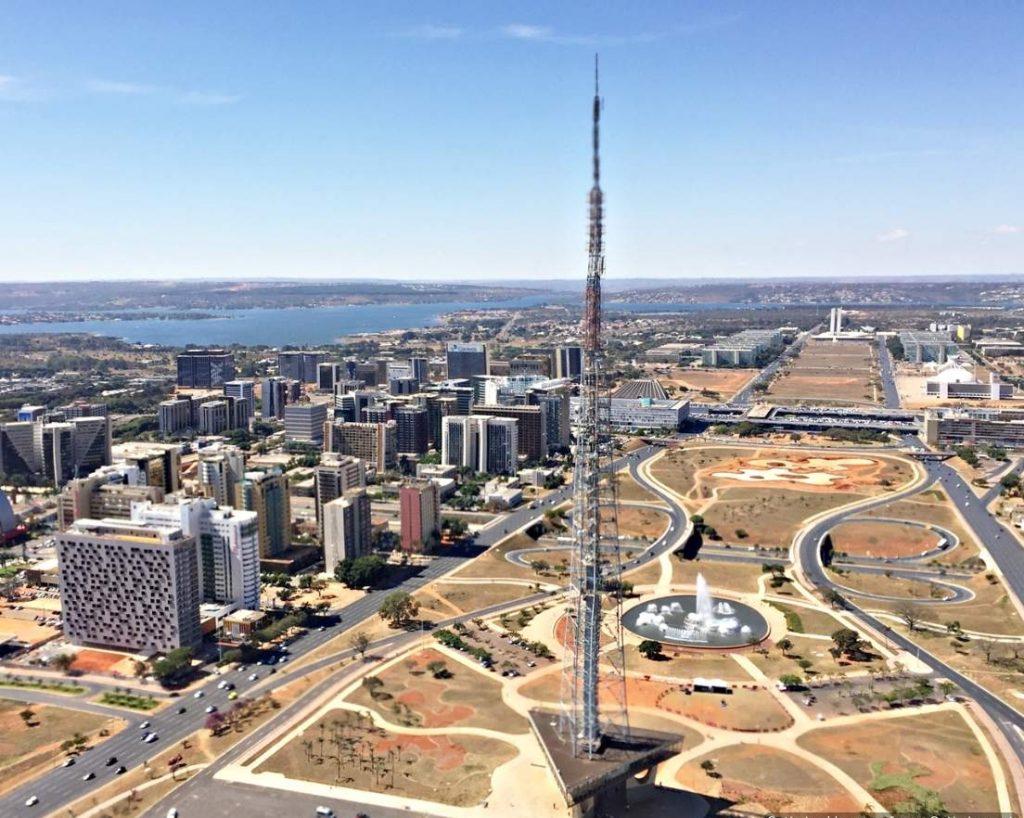 Brasília Vista de Cima Torre de tv