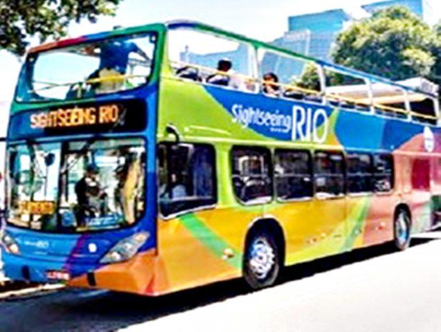 Sightseeing em ônibus panorâmico pelo Rio de Janeiro