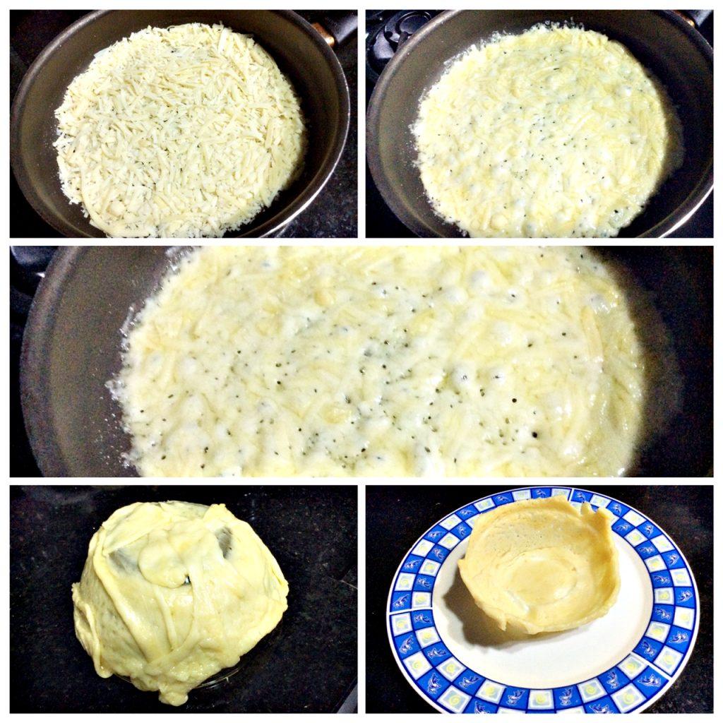 Camarão com molho de mel cestinha