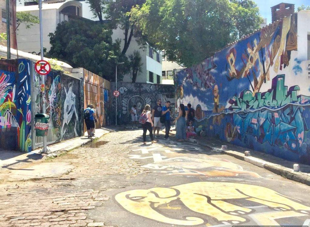 São Paulo Beco do Batman