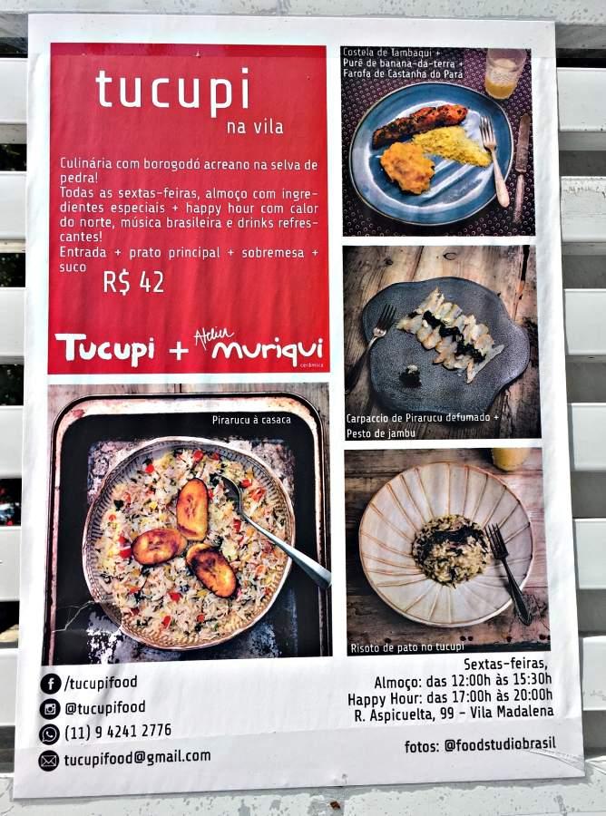 São Paulo Restaurante Tucupi